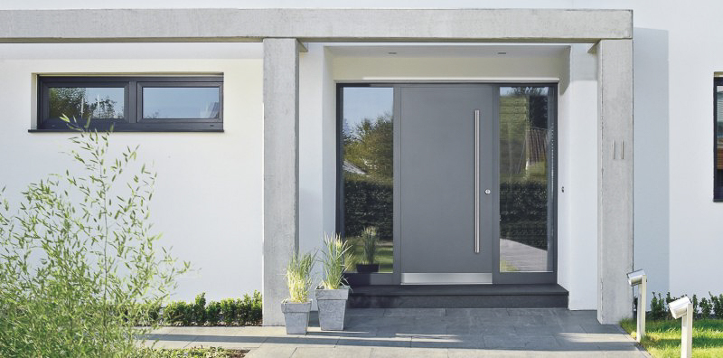Aluminum Wood Front Doors Harman Fensterbau