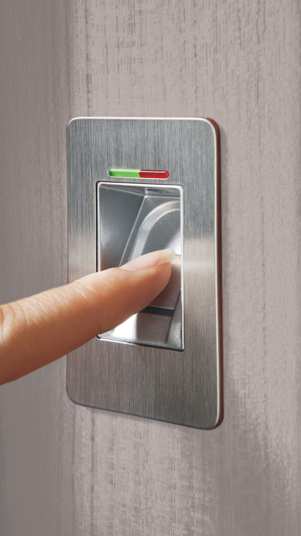 Entry Door Fingerprint Scanner