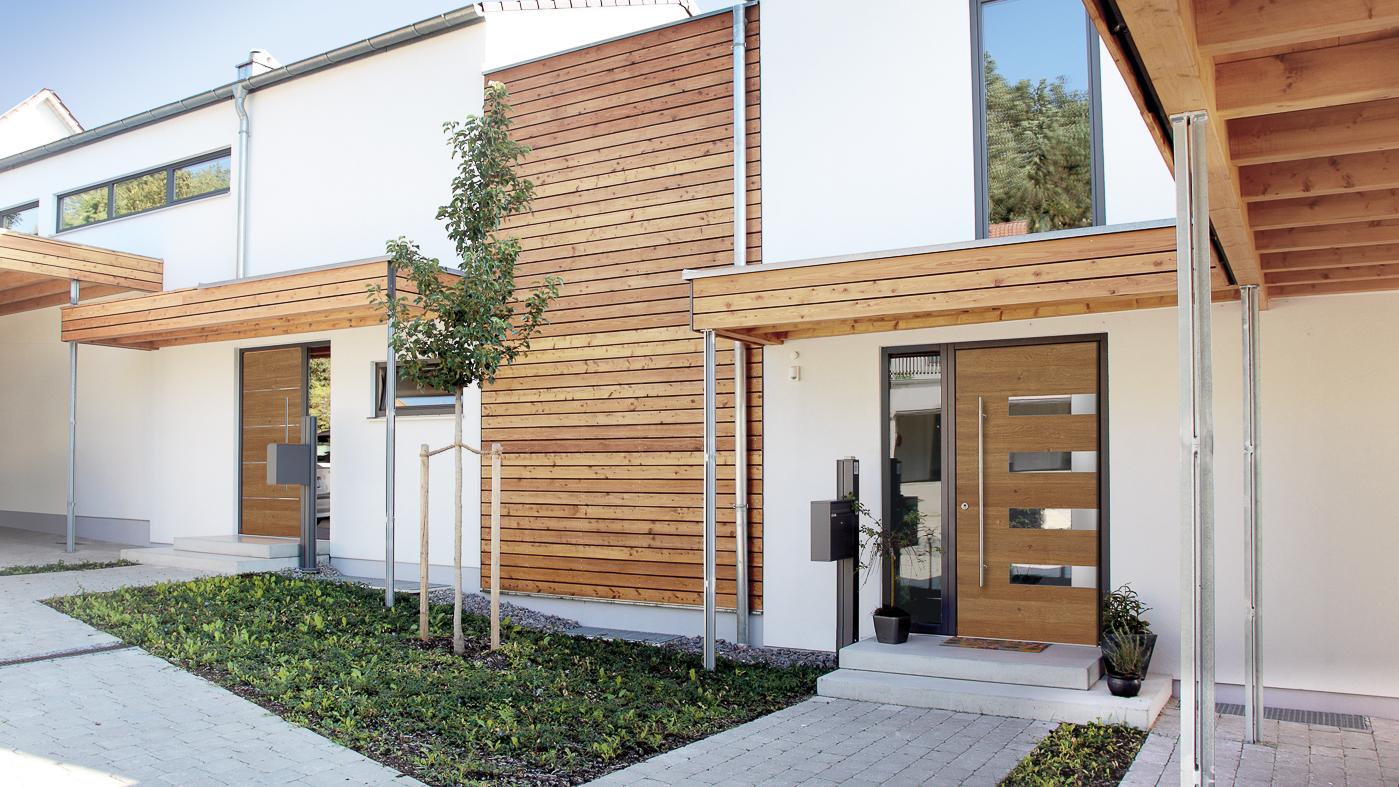 Wood Entry Doors Harman Fensterbau